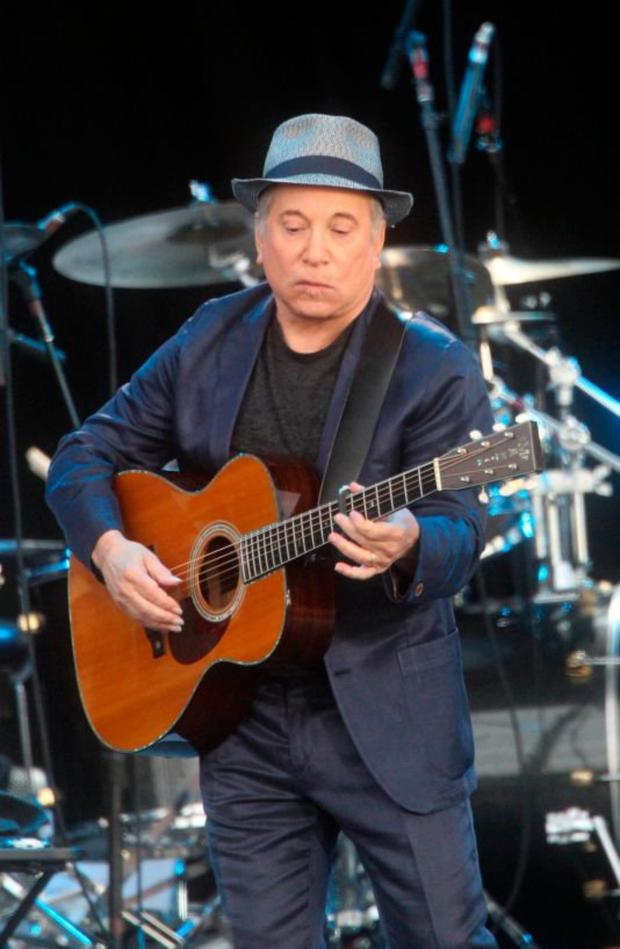 Paul Simon is short of leg but long of creativity, and truly sublime to watch