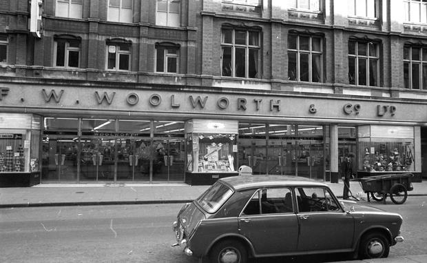 Woolworth on Henry Street in 1972