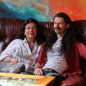 Leap of fate: Sam McNicholl, who runs Connolly's of Leap, with his mother Eileen