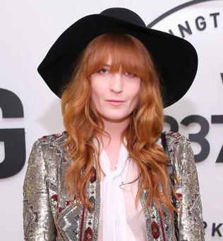 Florence Welch, of Florence and the Machine