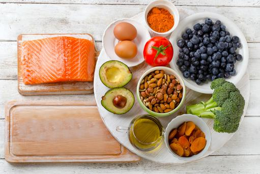 Fatty fish, eggs, olive oil, berries and dark greens are all good for powering up the brain