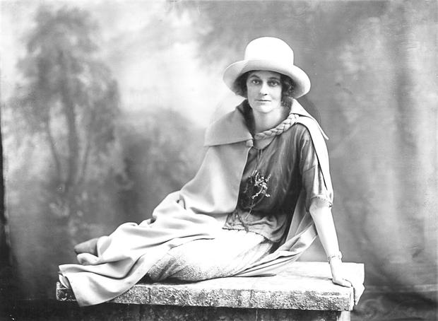 Wild Anglo-Irish girl: Markievicz was sentenced to death but pardoned due to her sex