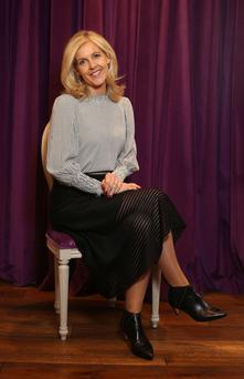 Mother knows best: Author Sinead Moriarty. Photo: Damien Eagers