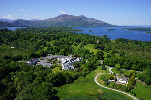 Muckross Park Hotel & Spa is a five-star hotel with the easy-going cosy welcoming atmosphere of a smaller family hotel