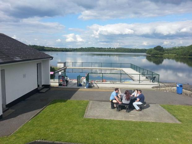 Soak up the views: Outdoor swimming at Arvagh, Garty Lough