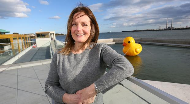 Labour of love: Rita Barcoe at Clontarf Baths