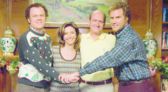 Home boys: John C Reilly (left) and Will Ferrell (right) are adult kids that live with their parents in Step Brothers