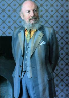 Dandy: Garech Browne at his beloved Luggala home in Co Wicklow
