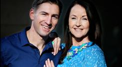 Dominic Munnelly and Grainne Parker 'their relationship grew into deep love'. Photo: Steve Humphreys