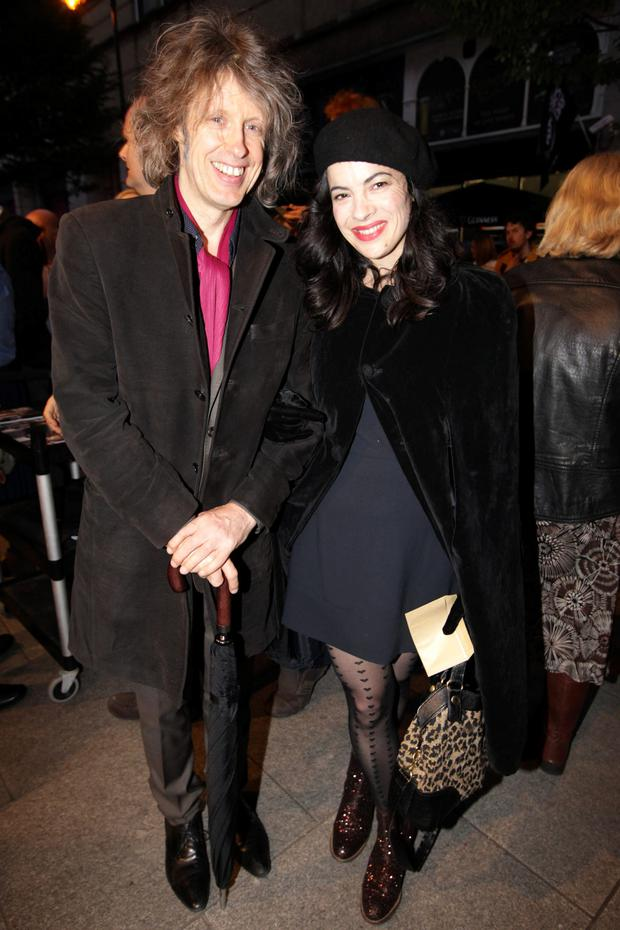 Mike Scott and Camille O'Sullivan
