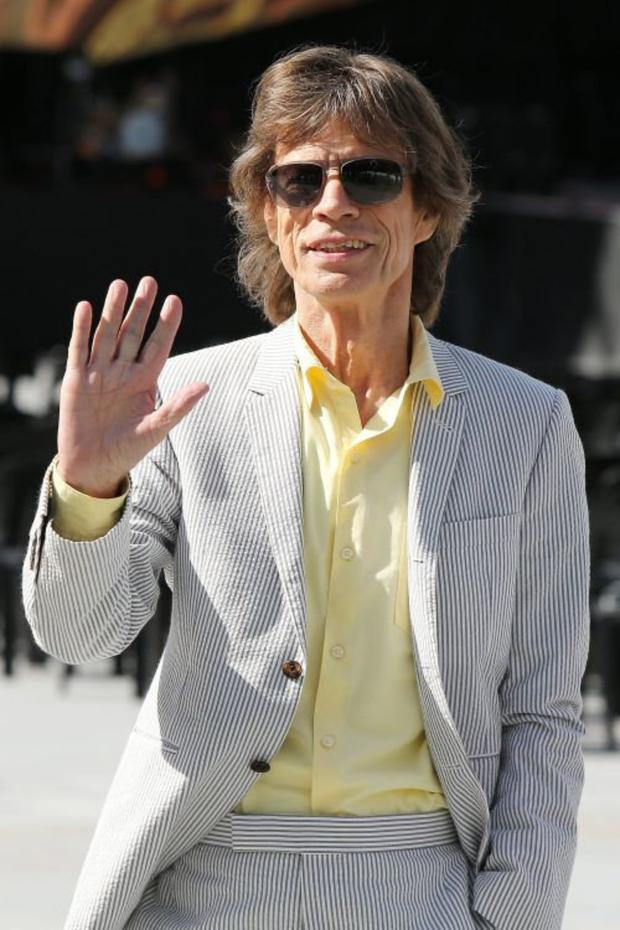 Dublin-bound Mick Jagger sings with a convincingly wise tone