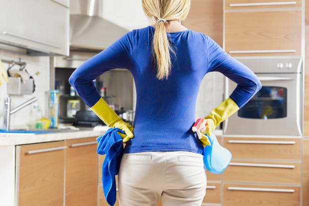 Ready for battle: You don't need a ton of cleaning products to get your house clean