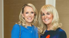 Lorraine O'Connor and Libby Hickey pictured at the Brown Thomas Limerick Spring Summer 2018 Season launch. Photo: Anthony Woods