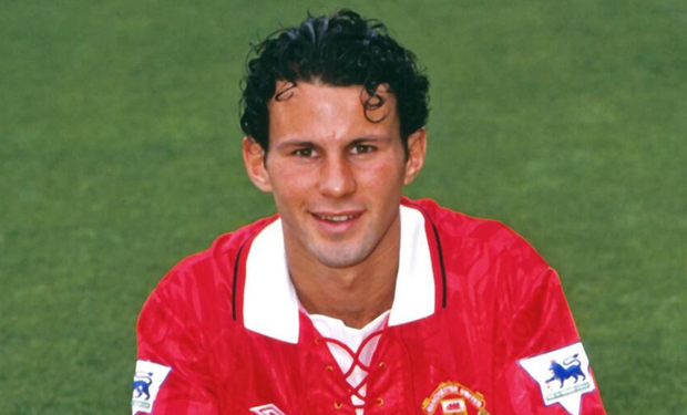 Teenage years: Ryan Giggs