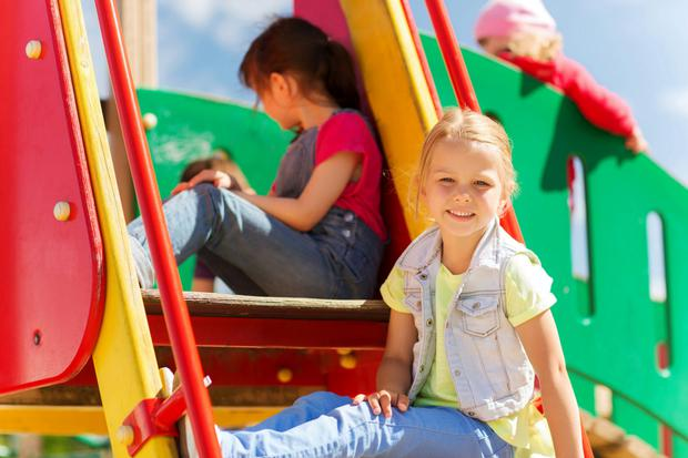 Play today tends to be in more structured places such as playgrounds