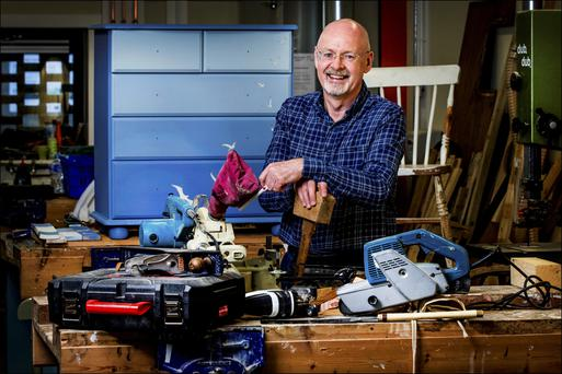 Gerard Griffin (59) is a project manager and furniture restorer in the Rediscovery Centre, Ballymun