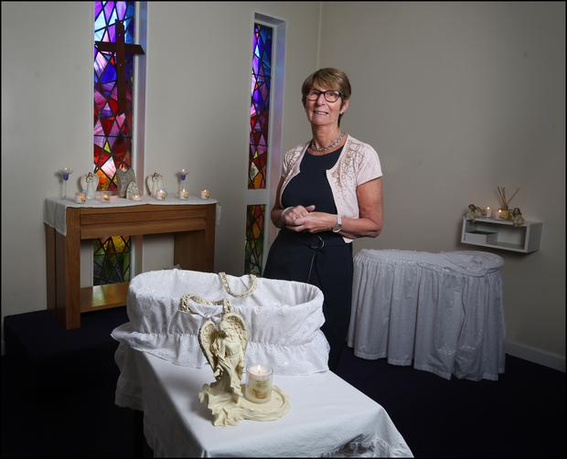 Renee Dilworth (65) is the healthcare chaplain of the Coombe Women & Infants University Hospital.