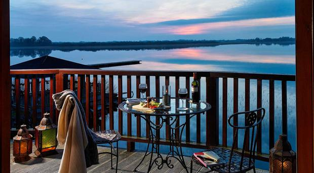 One can't but be enthralled by the stunning views of Lough Ree, one of three major lakes on the river Shannon which is teeming with wildlife