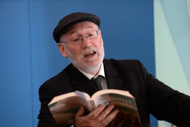 Signposts to life: Dermot Bolger says Patrick Kavanagh's words still resonate when he thinks of how his life panned out. Photo: Caroline Quinn