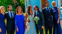 Johnny Ronan was every inch the proud father at daughter Jodie's wedding to John Savage last July