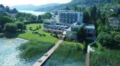 The Vivamayr spa at Maria Worth, on the shores of Austria's Lake Worthersee