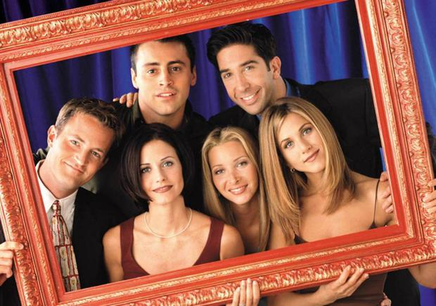 Best buds: Friends make us feel like the best version of ourselves, that's why we're obsessed with programmes like Friends