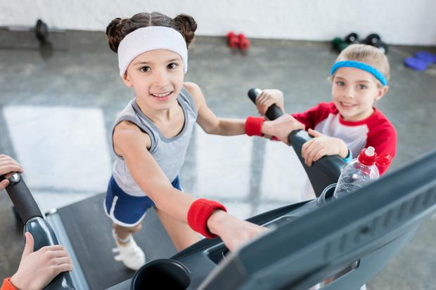 Children need to be supervised in the gym
