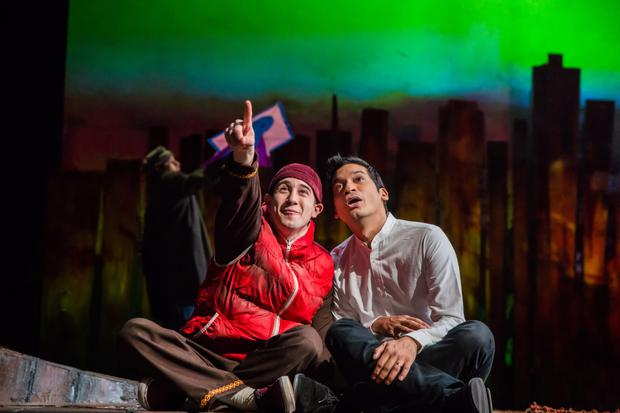 Jo Ben Ayed and Raj Ghatak in 'The Kite Runner' at the Gaiety