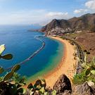 Las Teresitas beach on the island of Tenerife
