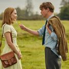 Saoirse Ronan and Billy Howle in 'On Chesil Beach'