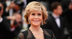 Ageless beauty: Jane Fonda promotes face cream despite having undergone cosmetic surgery. Photo: Getty Images