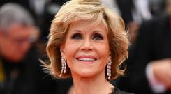 Jane Fonda at the Cannes Film Festival in 2018
