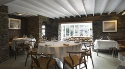 Easy charm: Mews Restaurant, Baltimore, Co Cork. Photo: Rohan Reilly