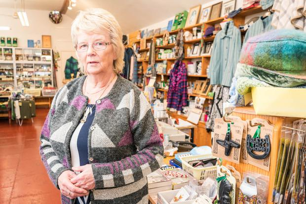 Mary Walsh from The Irish Craft Centre in Knock, Co Mayo. Photo: Keith Heneghan