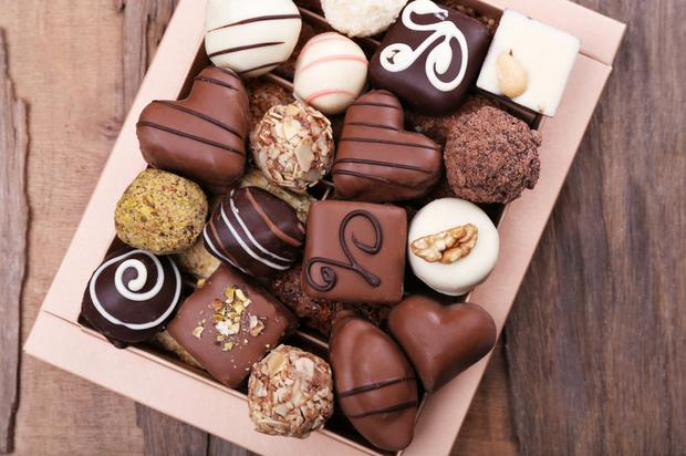 Sweet treat: You can't go wrong with chocolates