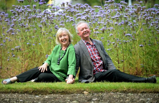 Evelyn Grant and Gerry Kelly met through the Irish Youth Orchestra. Photo: Caroline Quinn