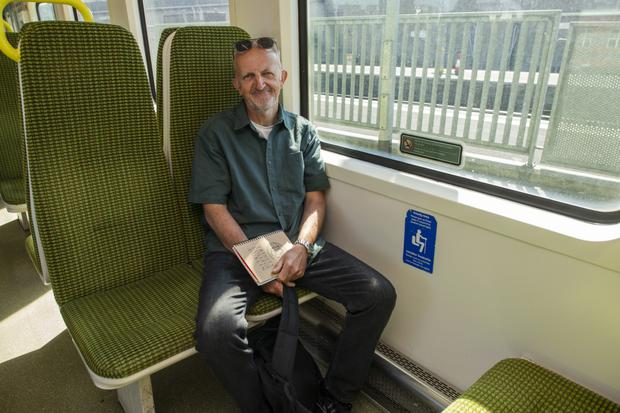 Just the ticket: Frank on the Dart. Photo: Doug O'Connor