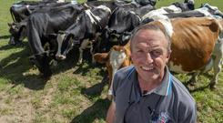 Passion for nature: Dairy farmer Donal Sheehan. Photo: Michael Mac weeney/Provision