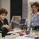 Guilt trip: In Will & Grace, Grace's mother Bobbi frequently plays matchmaker to encourage her daughter to start a family