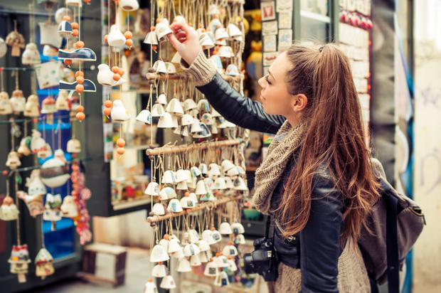 Overspending on souvenirs can leave you with a post-holiday financial hangover