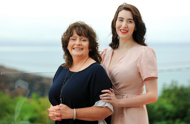 Recollection: Michele and her daughter Darcie commit people's memories to film. Photo: Gerry Mooney