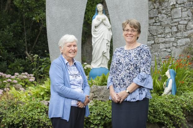 God's call: Sr Josephine Cox and Sr Kathleen McGarveyat the OLA Sisters Convent in Ballintemple, Cork City. Photo: Daragh Mc Sweeney/Provision