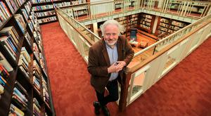 Revised and reimagined: Brendan Teeling, acting Dublin City Librarian, pictured in the recently refurbished Kevin Street library. Photo: Gerry Mooney