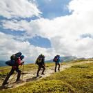 One hill of a feeling: Make sure you have good all-weather gear