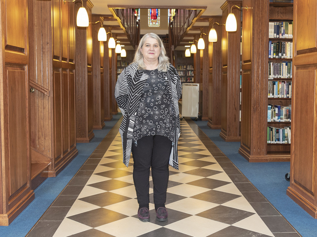 Unique subject matter: Dr Ida Milne is a lecturer in Carlow College. Photo: Thomas Nolan Photography