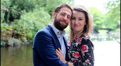 Aaron Monaghan and Clare Monnelly are both busy actors who married in 2016. Photo: David Conachy