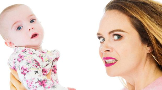 Irish comedian Joanne McNally in the TV3 documentary Baby Hater