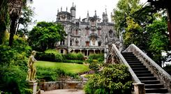 Quinta da Regaleira, a Unesco World Heritage Site near Sintra