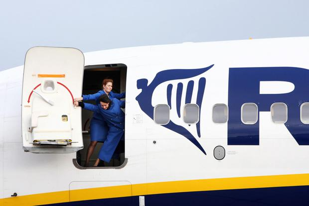 Batten down the hatches: Ryanair's value has dropped €7.5bn in a year
