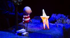How To Catch A Star is brought to life on stage by puppeteers. Photo: Anita Murphy photography